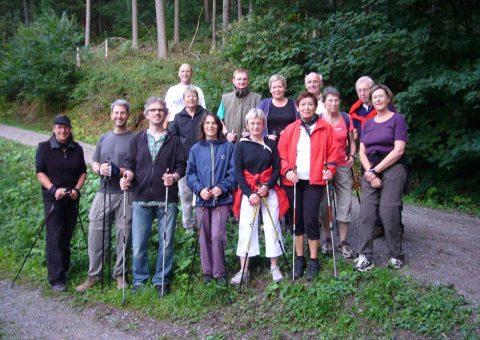 Nordic Walking Gruppe Heidelberg
